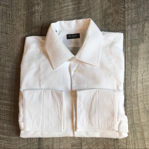 78a0c9a55 Ike Behar Shirts   Evening Pique Bib Front Tuxedo Shirt   Poshmark